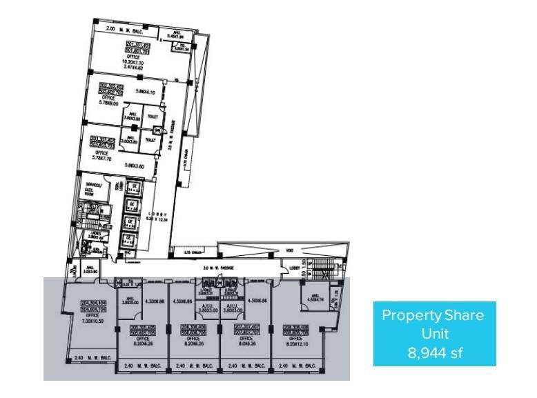 Sky Vista Viman Nagar floor plan