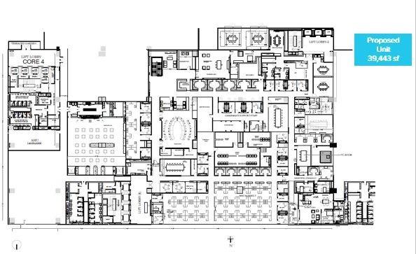 IBC Knowledge Park III Bannerghatta Road floor plan