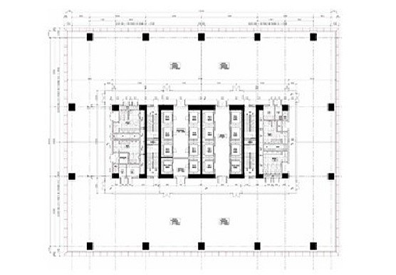 Umiya Business Bay II Outer Ring Road floor plan